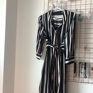 Dynamite Dresses - ✨Dynamite✨ Striped Midi Dress